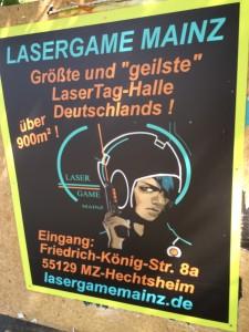 Lasertag Turnier Mainz - 2. Lasergame Turnier