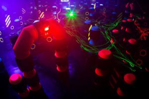 Lichteffekte Laserspace Freiburg