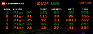 Score Laserbase Karlsruhe